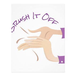Brush It Off Letterhead