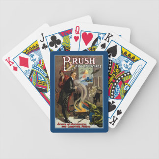 Brush ~ King of Wizards Bicycle Playing Cards
