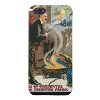 Brush ~ King of Wizards Vintage Magic Act Case For iPhone SE/5/5s