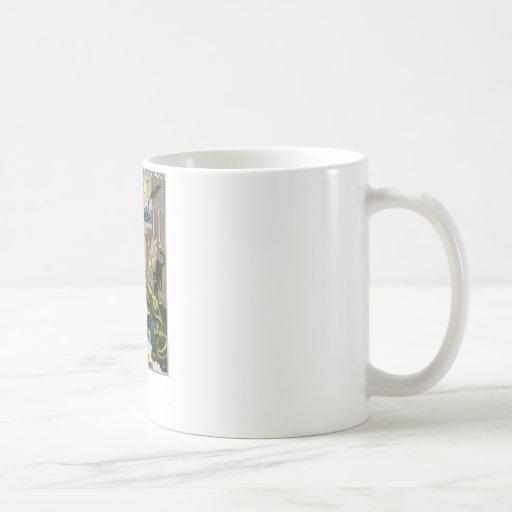 Brush ~ King of Wizards Vintage Magic Act Coffee Mug