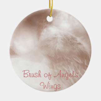 """Brush of Angels Wings""- Ornament"