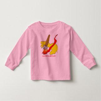 brush stroke kids toddler t-shirt