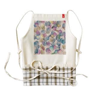 Brush strokes abstract design zazzle HEART apron