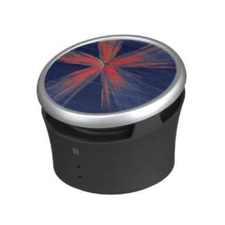 Brush strokes bluetooth speaker