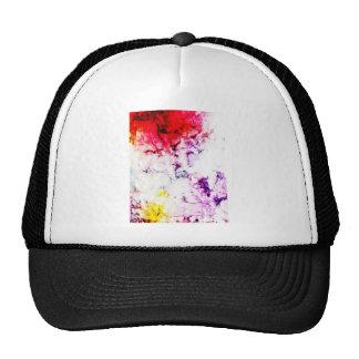 Brush Strokes Paint Creative Digital Bright  Pink Trucker Hat