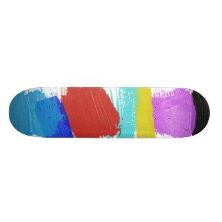 Brush strokes Skateboard