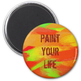 brush strokes texture. text magnet