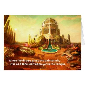 Brush Temple Card