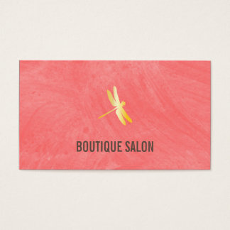 Brush Texture (Guava) Business Card