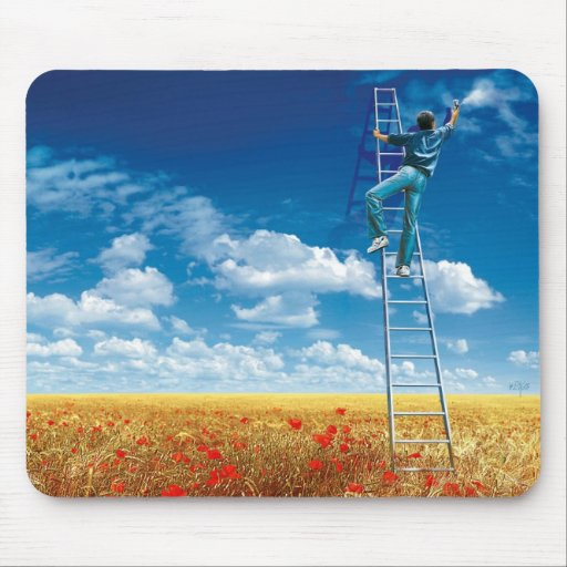 Brush the Sky - mouse PAD