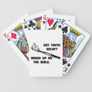 Brush up on the Bible Bicycle Card Decks