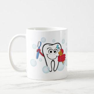 Brush Your Teeth Coffee Mug