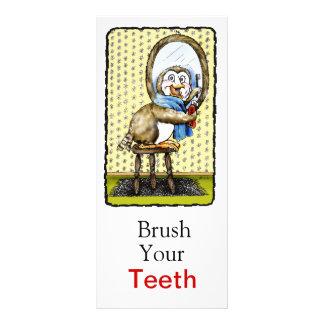 Brush Your Teeth Rack Card