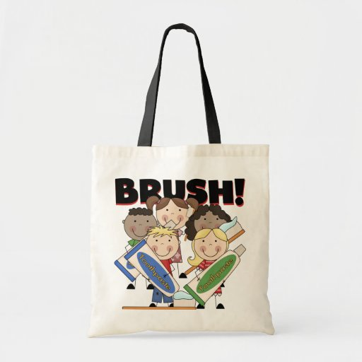 Brush Your Teeth T Shirts And Gifts Tote Bag Zazzle