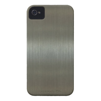 Brushed Aluminum iPhone 4 Cover