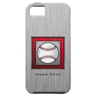Brushed Aluminum look Baseball iPhone 5 Cases