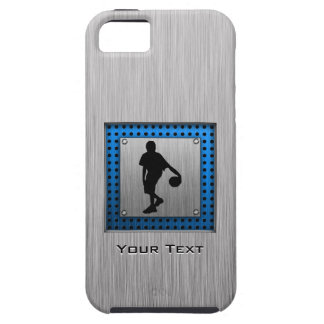 Brushed ALuminum look Basketball Player iPhone 5 Cases