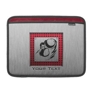 Brushed aluminum look Boxer MacBook Air Sleeve