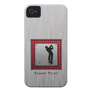 Brushed Aluminum look Golfer Case-Mate iPhone 4 Case