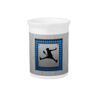 Brushed Aluminum look Tennis Drink Pitchers