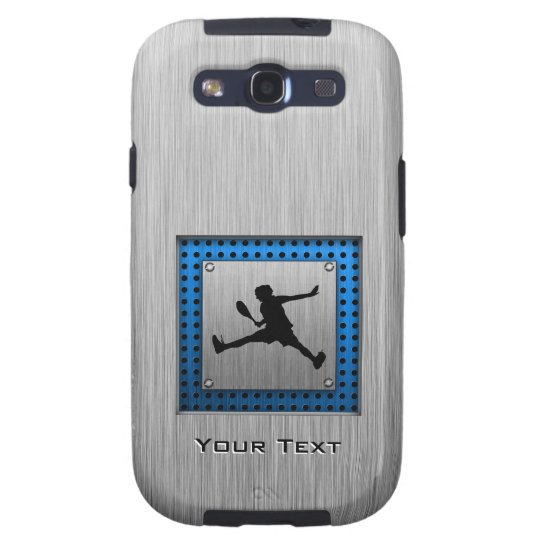 Brushed Aluminum look Tennis Samsung Galaxy SIII Cover