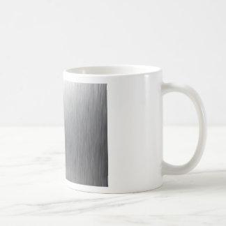 Brushed Aluminum Metal Coffee Mug