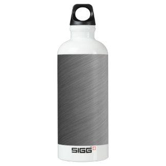 Brushed Aluminum Metal Look Aluminum Water Bottle
