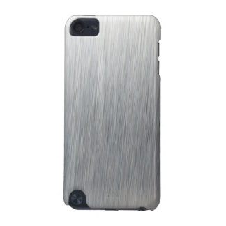 Brushed Aluminum Metallic Textured iPod Touch (5th Generation) Cases