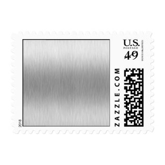 Brushed Aluminum Stainless Steel Textured Postage