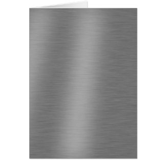 Brushed Aluminum Texture Card