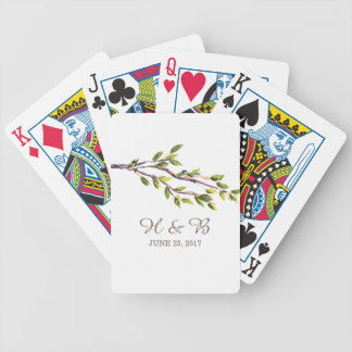 Brushed Branches Playing Cards
