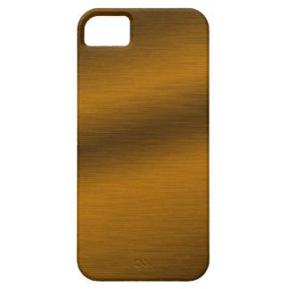 Brushed Bronze Background iPhone SE/5/5s Case