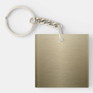 Brushed Bronze Key Chains