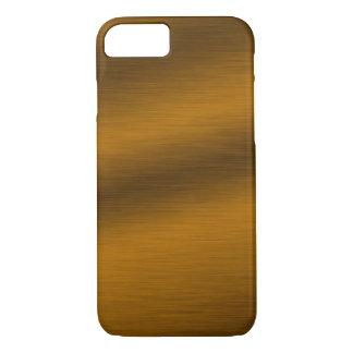 Brushed Bronze Look Elegant iPhone 7 Case