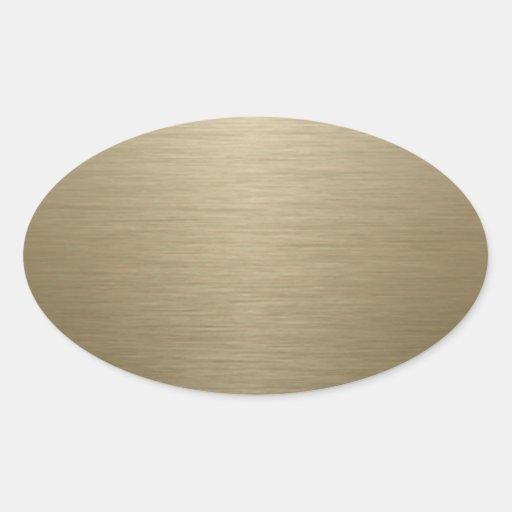 Brushed Bronze Sticker