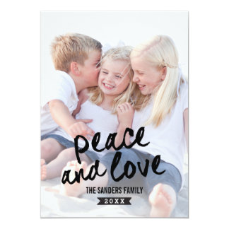 Brushed Charm Holiday Photo Cards