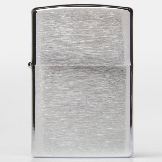 Zippo Brushed Chrome Pocket Lighter