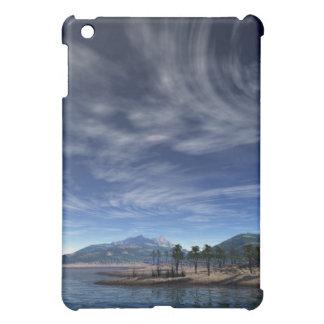 Brushed Clouds Island i Pod  iPad Mini Cover