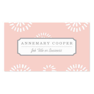 Brushed Flowers Business Card