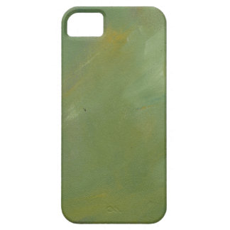Brushed Green Faux Finish iPhone 5 Cases