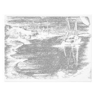 Brushed Harbourfront Letterhead