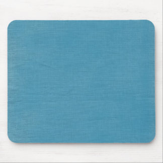 Brushed linen fabric texture // Ocean Blue Mouse Pad