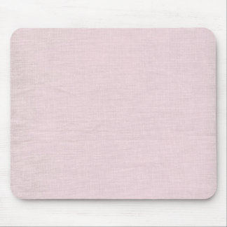 Brushed linen texture background // Dusty Rose Mouse Pad