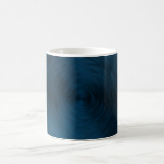 Brushed Metal Blue Steel Metallic Abstract Coffee Mug