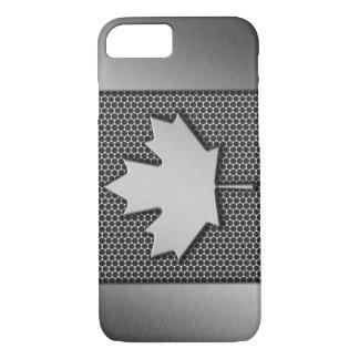 Brushed Metal Canadian Flag iPhone 8/7 Case
