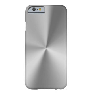 Brushed metal barely there iPhone 6 case