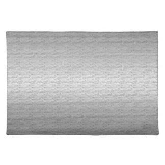 Brushed Metal Cloth Placemat