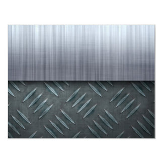 Brushed Metal Diamond Plate Template