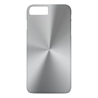 Brushed metal iPhone 7 plus case