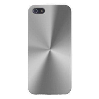 Brushed metal iPhone 5 case
